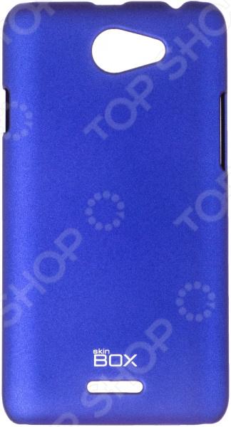 Чехол защитный skinBOX HTC Desire 516 чехол силикон ibox crystal для htc desire 516 316 прозрачный