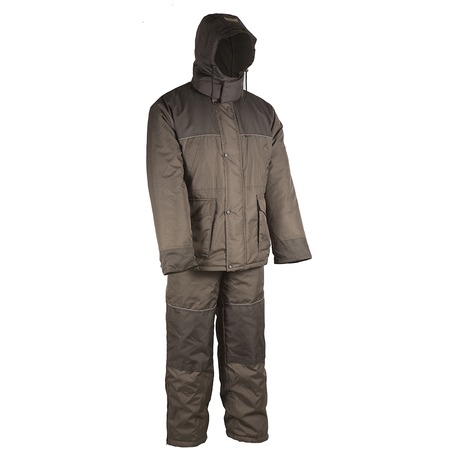 Купить Костюм для рыбалки и отдыха зимний Huntsman «Полюс V». Цвет: хаки