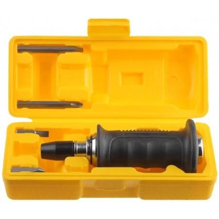 Купить Отвертка ударно-поворотная с набором бит Stayer Profi 25663-H4