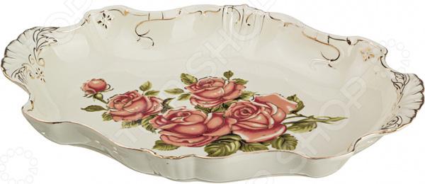 Блюдо Lefard «Корейская роза» 126-553 менажница lefard корейская роза 126 549