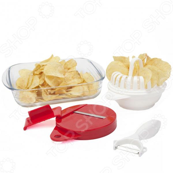 Набор для приготовления чипсов Bradex Хрустик