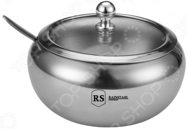 Сахарница с ложкой Rainstahl RS-8420 Rainstahl - артикул: 1016454