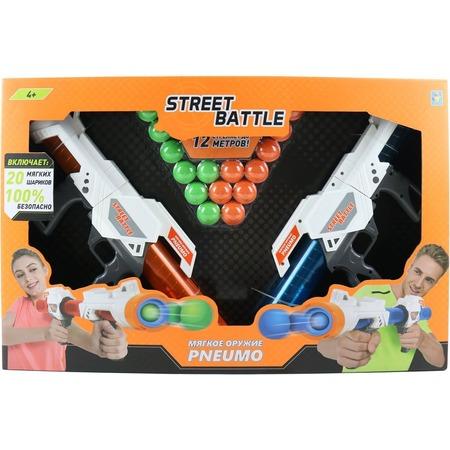 Купить Оружие игрушечное 1 Toy Street Battle Т13652