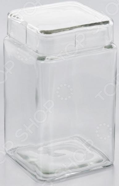 Контейнер для хранения продуктов квадратный Esprado Cristella