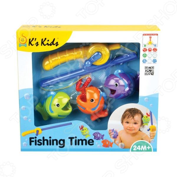 Игрушка для ванны K'S Kids «Время рыбалки» kd group игрушка для ванны корзинка рыбака