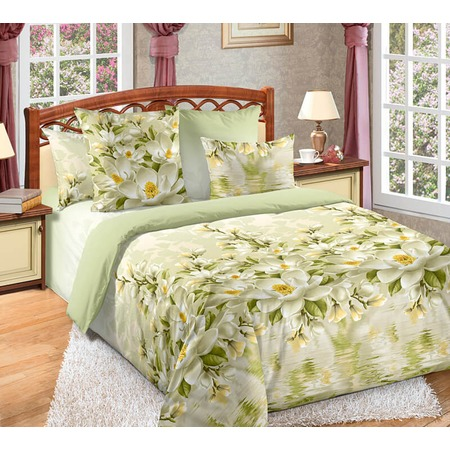 Купить Комплект постельного белья Белиссимо «Магнолия». 1,5-спальный