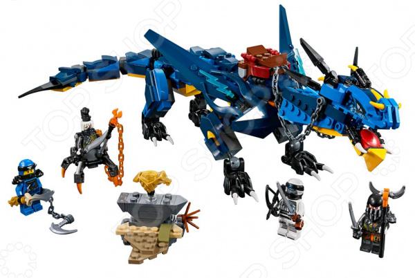 Конструктор игровой LEGO Ninjago «Вестник бури»
