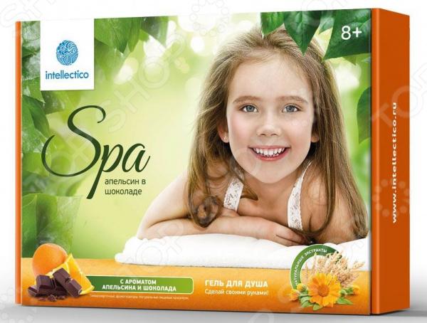 Набор для изготовления геля для душа Intellectico «Апельсин в шоколаде»