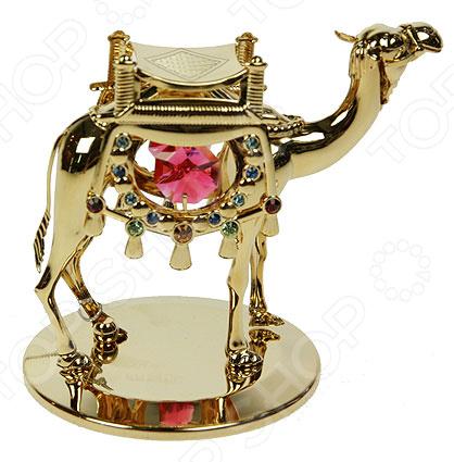 Фигурка декоративная Crystocraft «Верблюд» с кристаллами Swarovski 67622