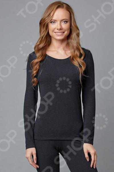 Лонгслив Milliner «Ангора Лайт» 1723123. Цвет: черный ангора одежда