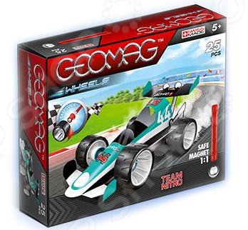 Конструктор магнитный Geomag 711 «Машина гоночная»