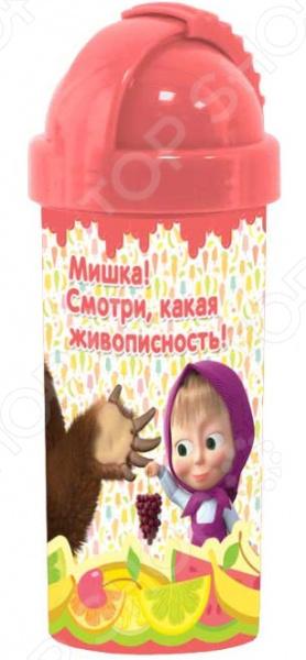 Бутылочка детская «Маша и Медведь. Фруктовая Радуга» MBPF400-1 MBPF400-1