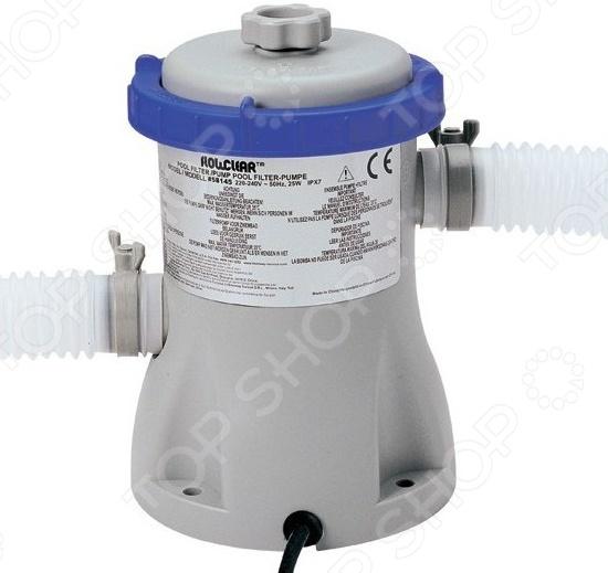 Фильтр-насос для бассейна Bestway 58381 бассейн bestway 56420 каркас 366х122см 10250л фильтр насос
