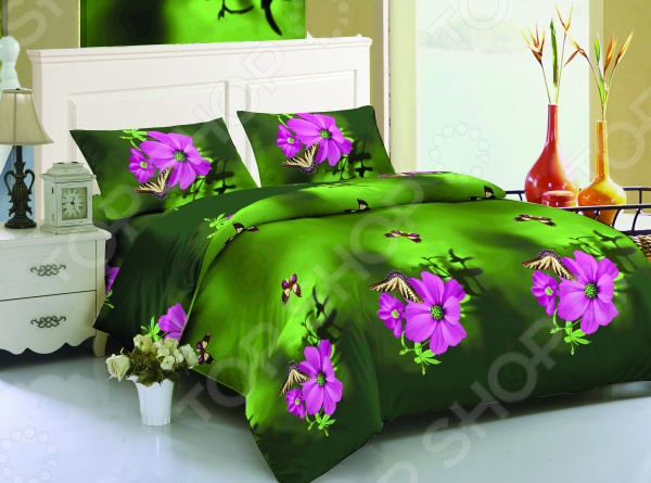 Комплект постельного белья Amore Mio Hailey. 1,5-спальный