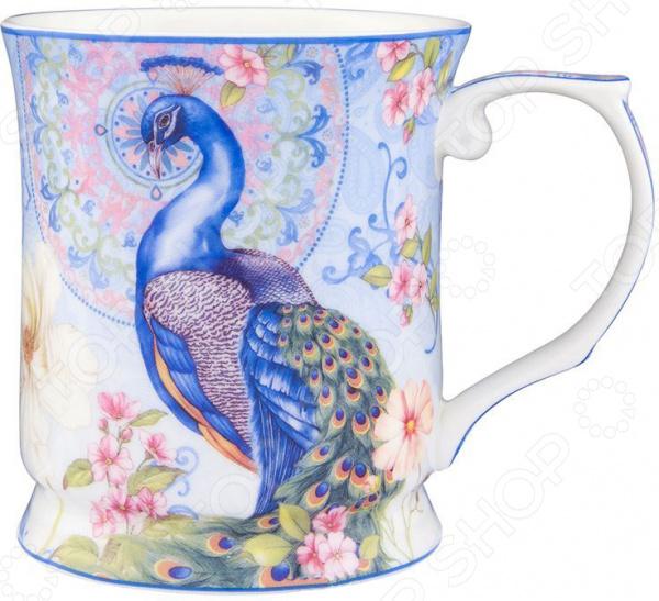 Кружка Elan Gallery «Павлин в райском саду» вазы elan gallery ваза павлин в райском саду