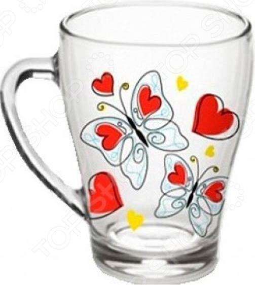 Кружка Luminarc «Бабочки с сердечками»