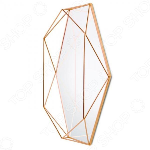 Umbra Prisma это оригинальное, стильное и очень модное настенное зеркало, которое поможет добавить изюминку в интерьер. Представленная модель предназначена для тех людей, кто хочет сделать жизнь ярче, а быт более комфортным. Оправленное в стальную проволоку зеркало, будто ограненный драгоценный камень, украсит комнату, добавляя шарма и изысканности, а также подчеркивая утонченный вкус хозяина дома. Такой элемент декора не останется незамеченным гостями и станет отличным решением для любого помещения.