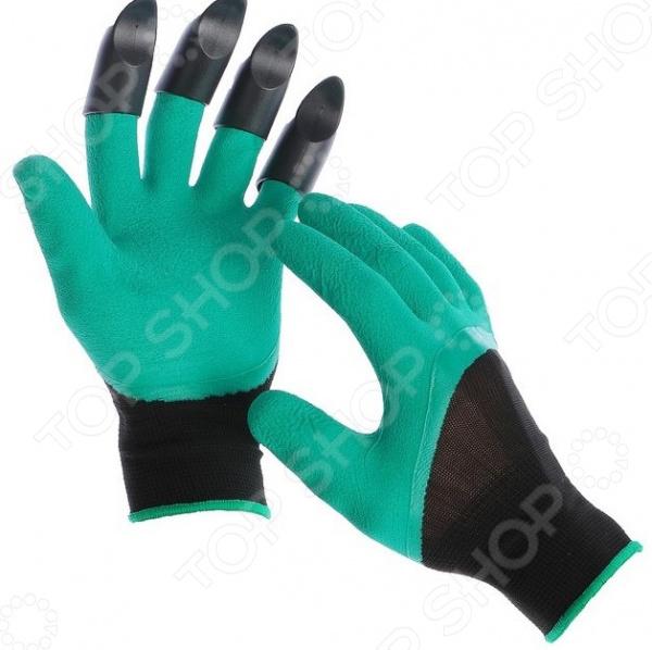 Перчатки садовые «Землеройка» для левши