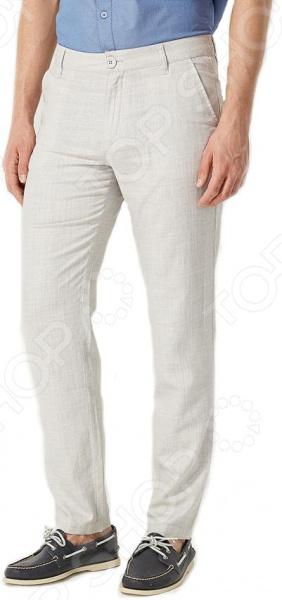 Брюки Finn Flare S16-24008. Цвет: светло-серый брюки finn flare s16 24008 цвет светло серый