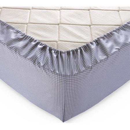 Купить Простыня на резинке ТексДизайн «Текстура». Цвет: серый