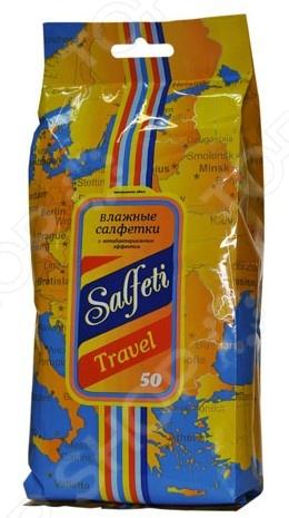 Набор салфеток влажных универсальных очищающих Авангард SF-48118 Travel