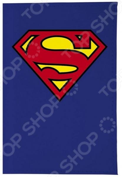 Обложка для автодокументов кожаная Mitya Veselkov «Супермен» все цены