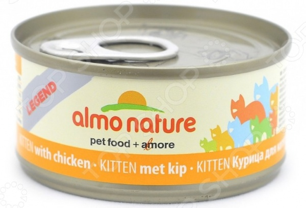 almo nature Legend Kitten с курицей 39508