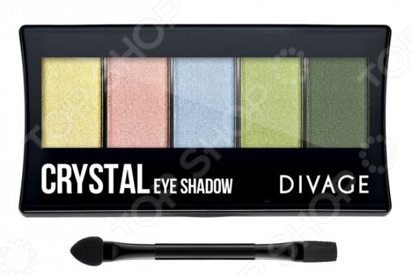 Набор теней для век DIVAGE Palettes Eye Shadow Crystal
