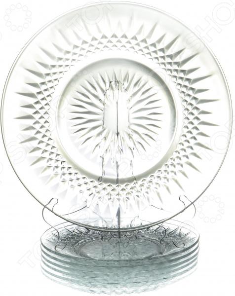 Набор тарелок OlAff «Классик» rubis пинцет классик шесть звезд