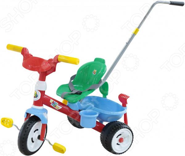 Велосипед трехколесный Coloma Y Pastor с ручкой Baby Trike