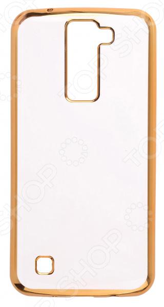 Чехол защитный skinBOX LG K8 чехлы для телефонов skinbox накладка для lg nexus 5 skinbox серия 4people защитная пленка в комплекте