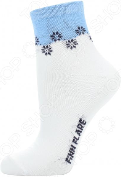 цена  Носки Finn Flare B17-11130. Цвет: белый  онлайн в 2017 году