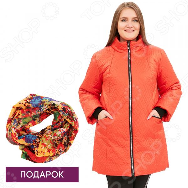 Куртка Гранд Гром «Бесценная женщина». Цвет: красный