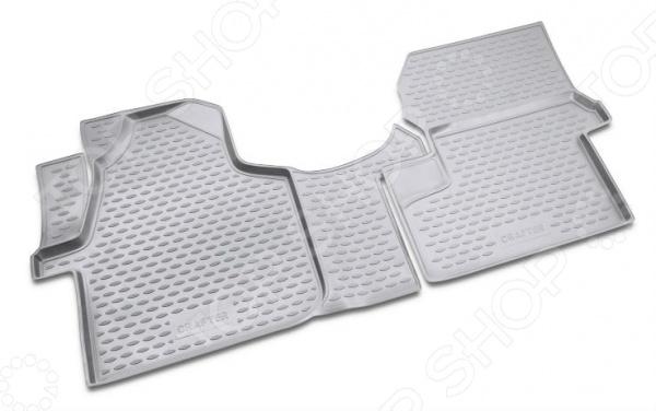 Комплект ковриков в салон автомобиля Novline-Autofamily Volkswagen Crafter 2008