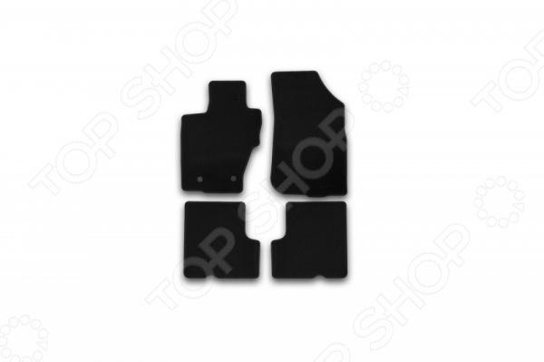 Комплект ковриков в салон автомобиля Klever Renault Duster 2WD / 4WD 2015 Econom б/р комплект чехлов на весь салон senator dakkar s3010391 renault duster от 2011 black