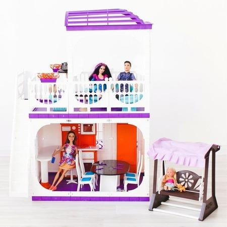 Купить Кукольный дом с аксессуарами Огонек «Конфетти»