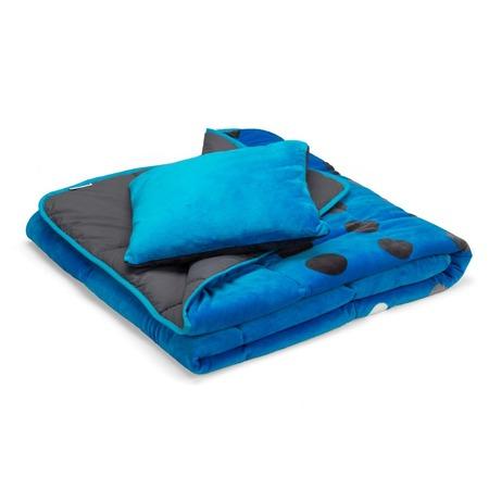 Покрывало для кровати Dormeo Symphony 3 в 1. 2-спальный. Цвет: голубой