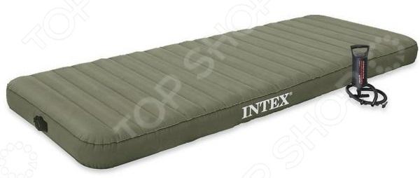 Матрас надувной Intex с ручным насосом