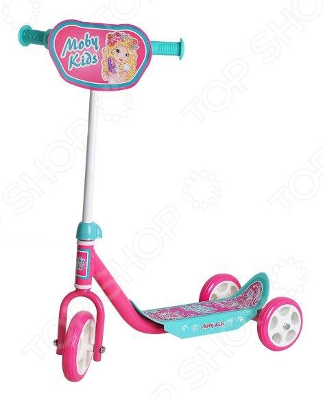 цена на Самокат трехколесный Moby Kids «Мечта» 64637