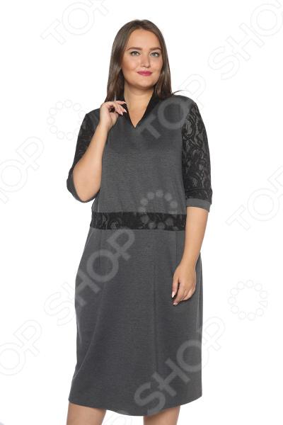 Платье Pretty Woman «Знатная дама». Цвет: серый