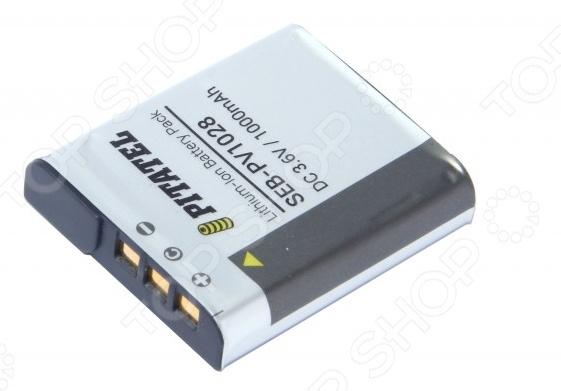 Аккумулятор для камеры Pitatel SEB-PV1028 аккумуляторы для цифровых фото и видео камер casio np 80 np80 zs150 zs6 n1 zs100 n20 je10