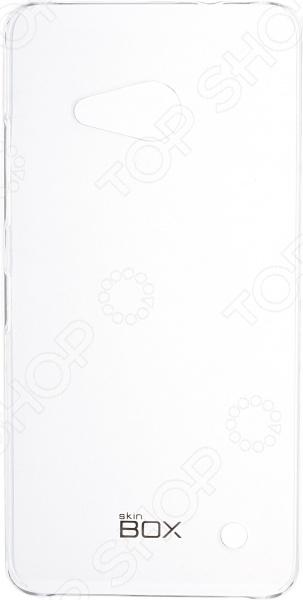 Чехол защитный skinBOX Microsoft Lumia 550 чехлы для телефонов skinbox microsoft lumia 550 skinbox shield 4people