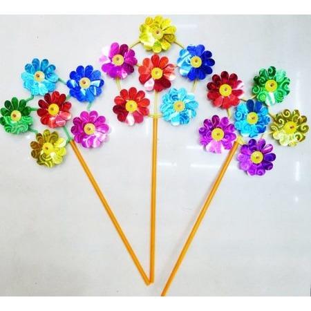 Купить Игрушка-вертушка Shantou Gepai «Цветы. Голограмма». В ассортименте