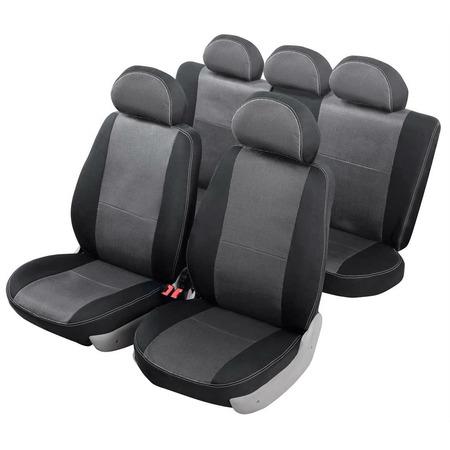 Купить Набор чехлов для сидений Senator Dakkar Volkswagen Polo 2009 слитный задний ряд