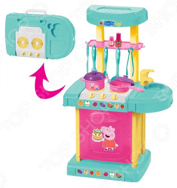 Игровой набор для девочки Peppa Pig «Кухня Пеппы»