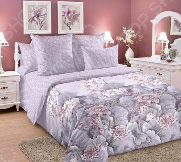 Комплект постельного белья ТексДизайн «Лотосы 2»