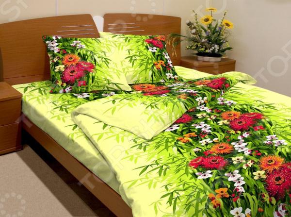 Комплект постельного белья Fiorelly «Герберы». 1,5-спальный