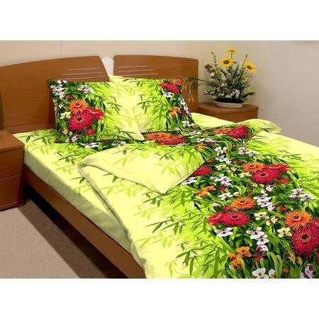 Купить Комплект постельного белья Fiorelly «Герберы». 1,5-спальный