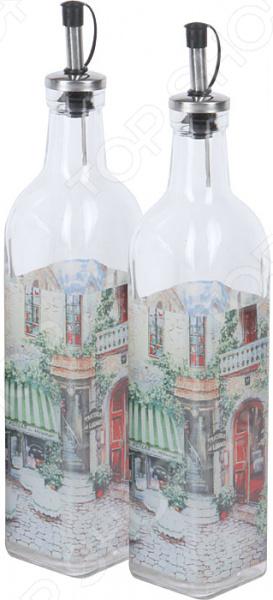 Набор бутылок для масла Rosenberg RGL-225007 набор для специй rosenberg rgs 075017
