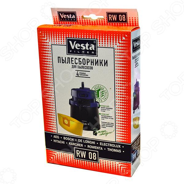 Мешки для пыли Vesta RW 08  Rowenta